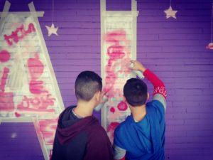 Taller Muralismo Comunitario Intergeneracional