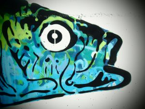 Taller muralismo comunitario para jóvenes.